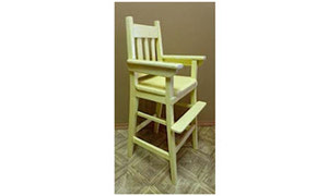 Granddad Brady and the Old Yellow High Chair